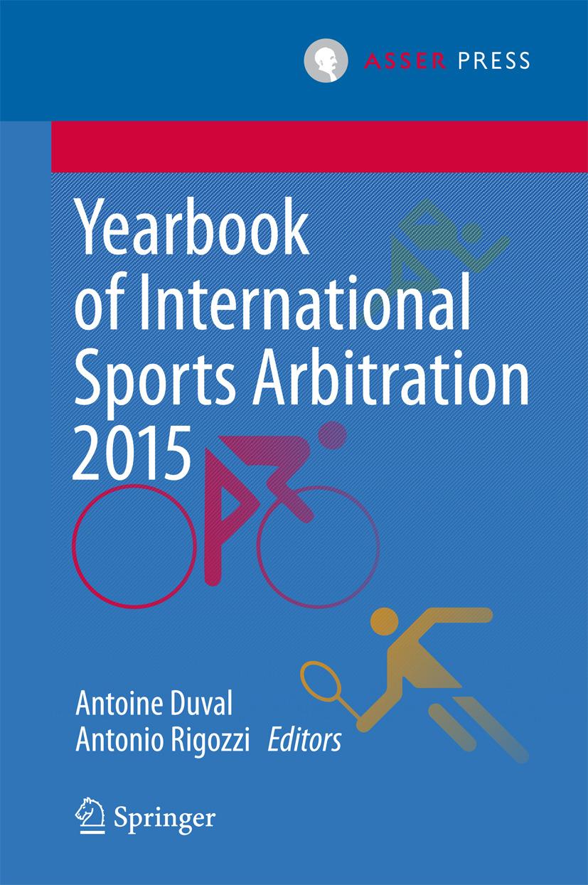 Duval, Antoine - Yearbook of International Sports Arbitration 2015, ebook