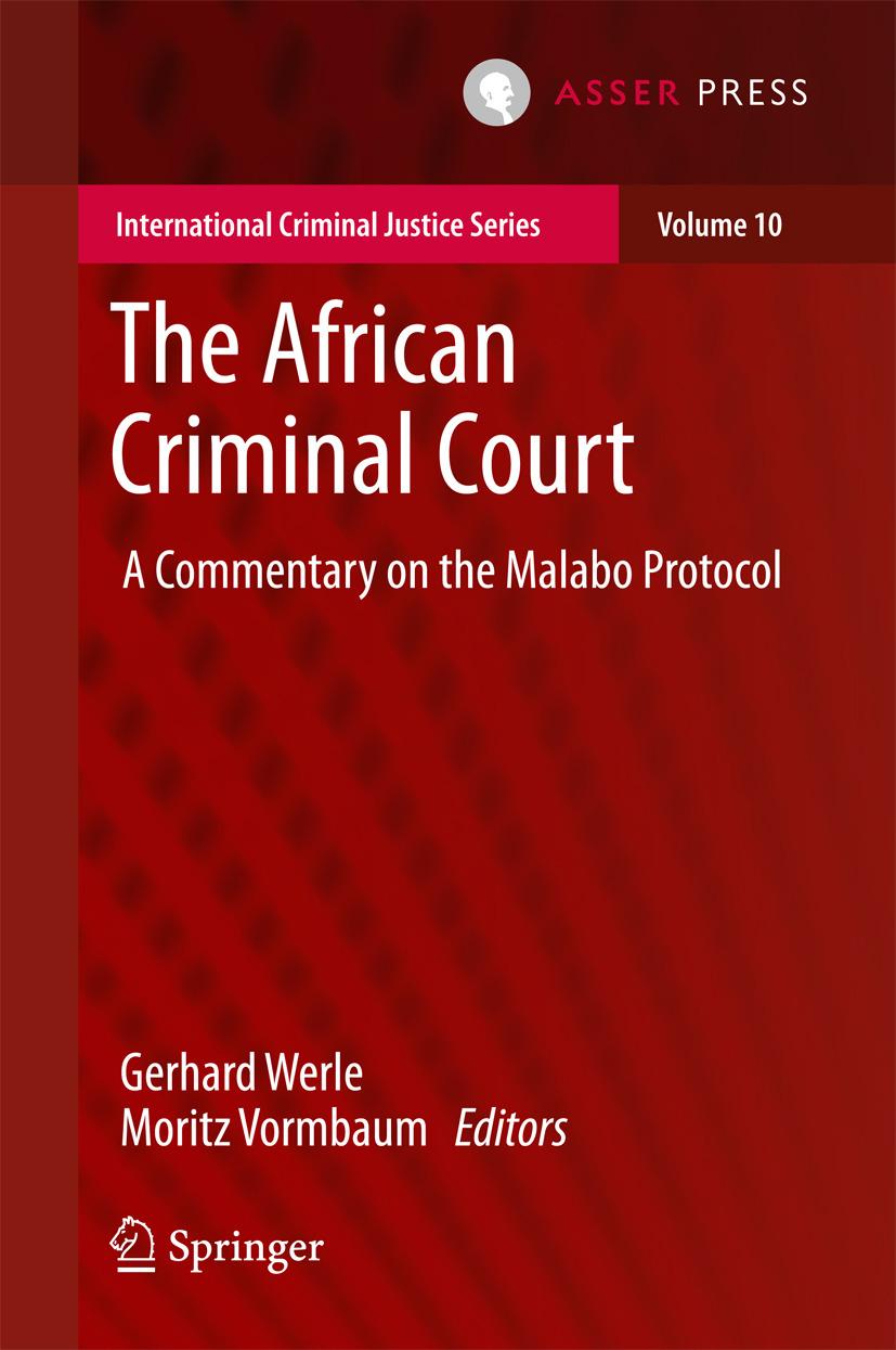 Vormbaum, Moritz - The African Criminal Court, ebook