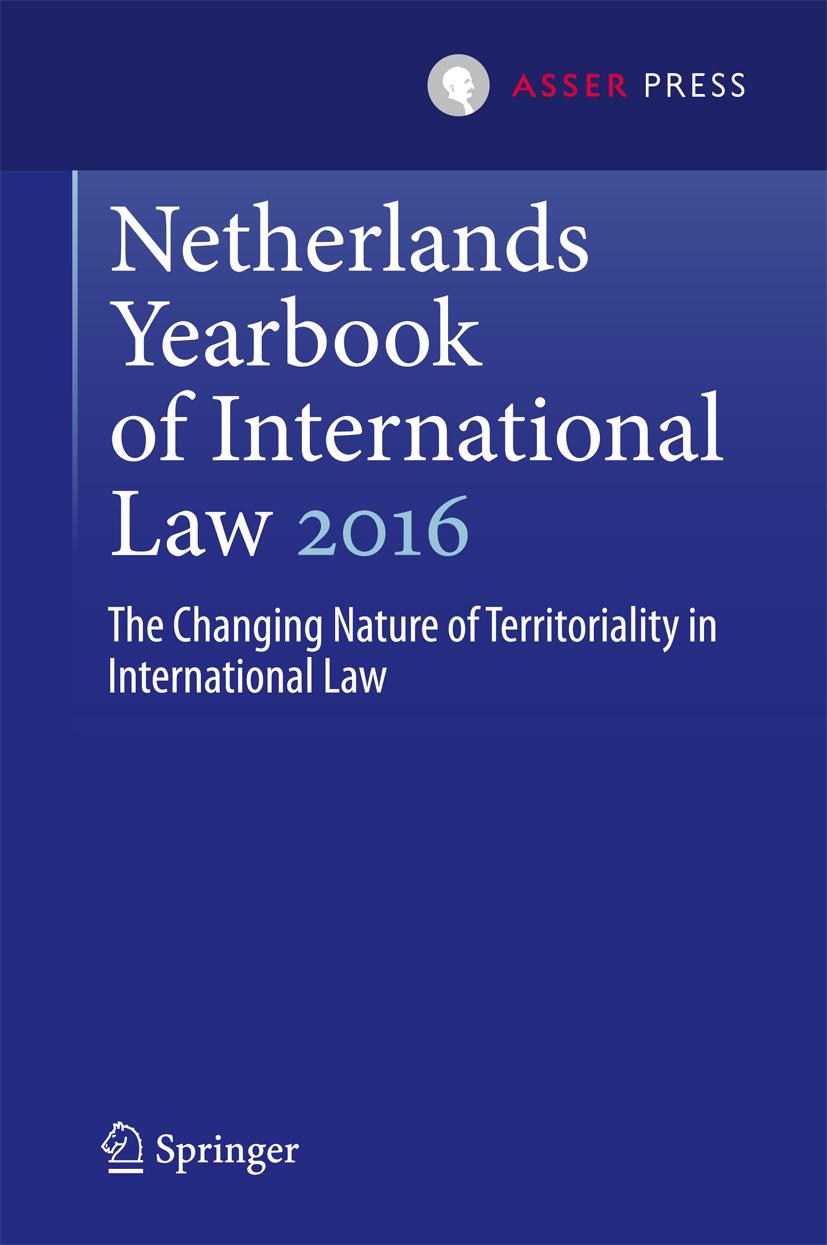 Kuijer, Martin - Netherlands Yearbook of International Law 2016, ebook