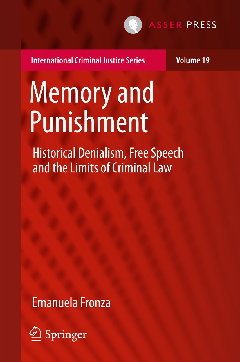 Fronza, Emanuela - Memory and Punishment, ebook