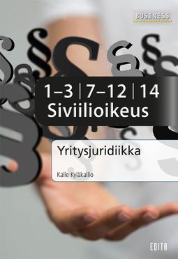 Kyläkallio, Kalle - Yritysjuridiikka – Siviilioikeus, e-kirja