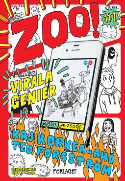 Forsström, Ted - Z00: Virala genier, e-bok