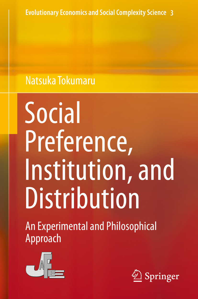 Tokumaru, Natsuka - Social Preference, Institution, and Distribution, ebook