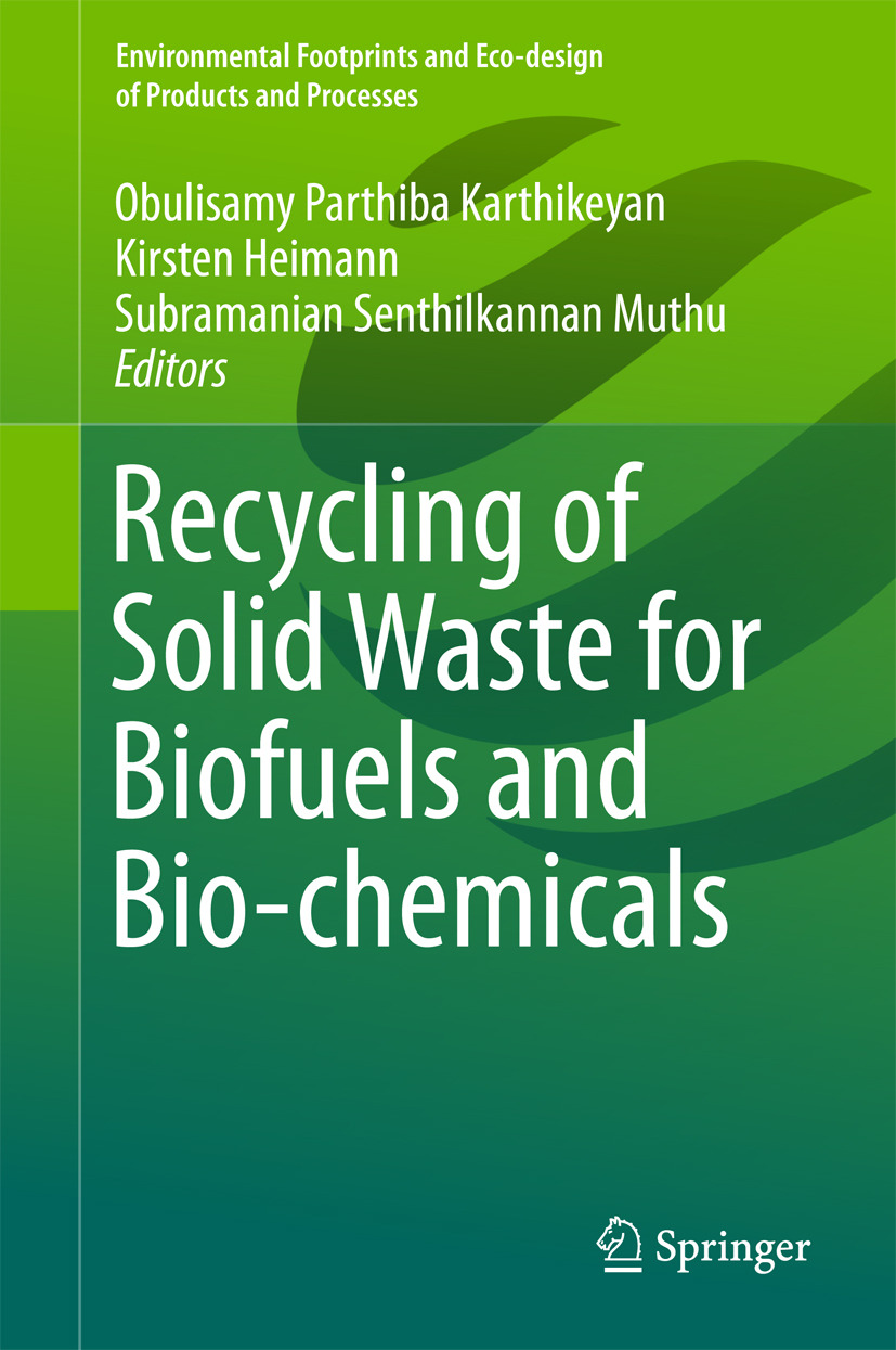 Heimann, Kirsten - Recycling of Solid Waste for Biofuels and Bio-chemicals, ebook