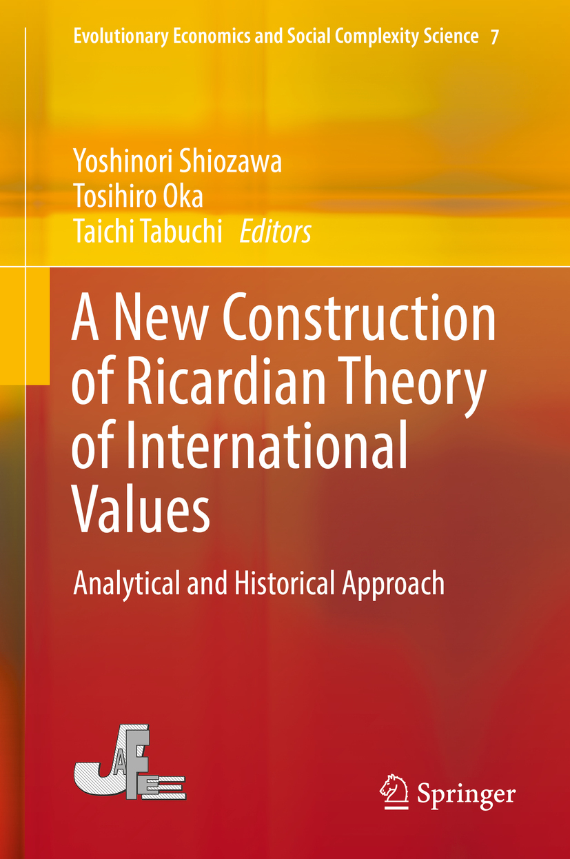 Oka, Tosihiro - A New Construction of Ricardian Theory of International Values, ebook
