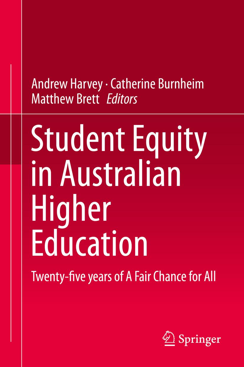 Brett, Matthew - Student Equity in Australian Higher Education, ebook