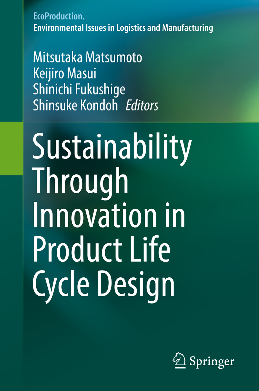 Fukushige, Shinichi - Sustainability Through Innovation in Product Life Cycle Design, ebook