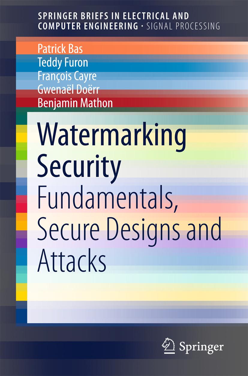 Bas, Patrick - Watermarking Security, ebook