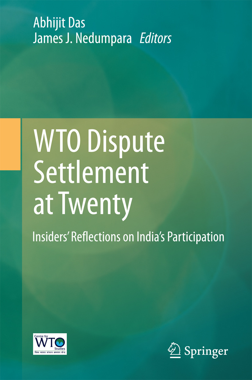 Das, Abhijit - WTO Dispute Settlement at Twenty, ebook
