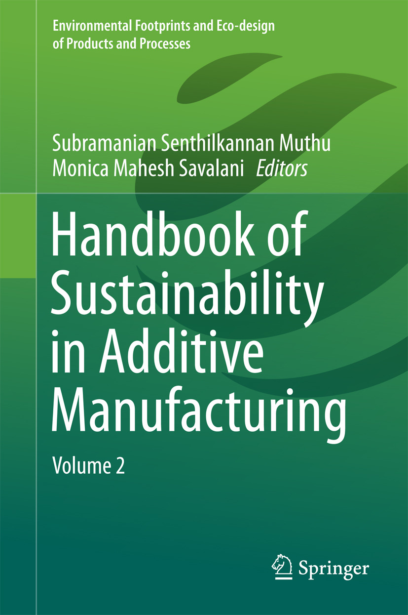 Muthu, Subramanian Senthilkannan - Handbook of Sustainability in Additive Manufacturing, ebook