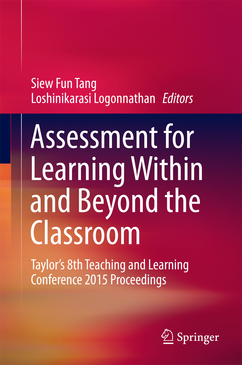 Logonnathan, Loshinikarasi - Assessment for Learning Within and Beyond the Classroom, ebook
