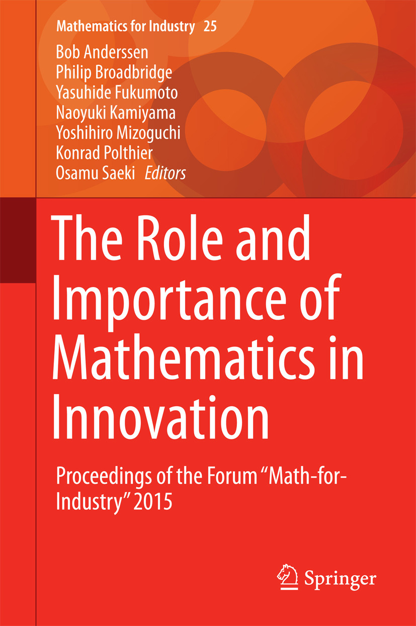 Anderssen, Bob - The Role and Importance of Mathematics in Innovation, e-bok