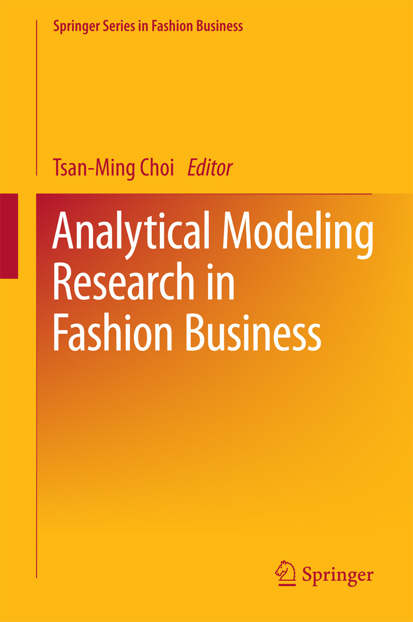 Choi, Tsan-Ming - Analytical Modeling Research in Fashion Business, ebook