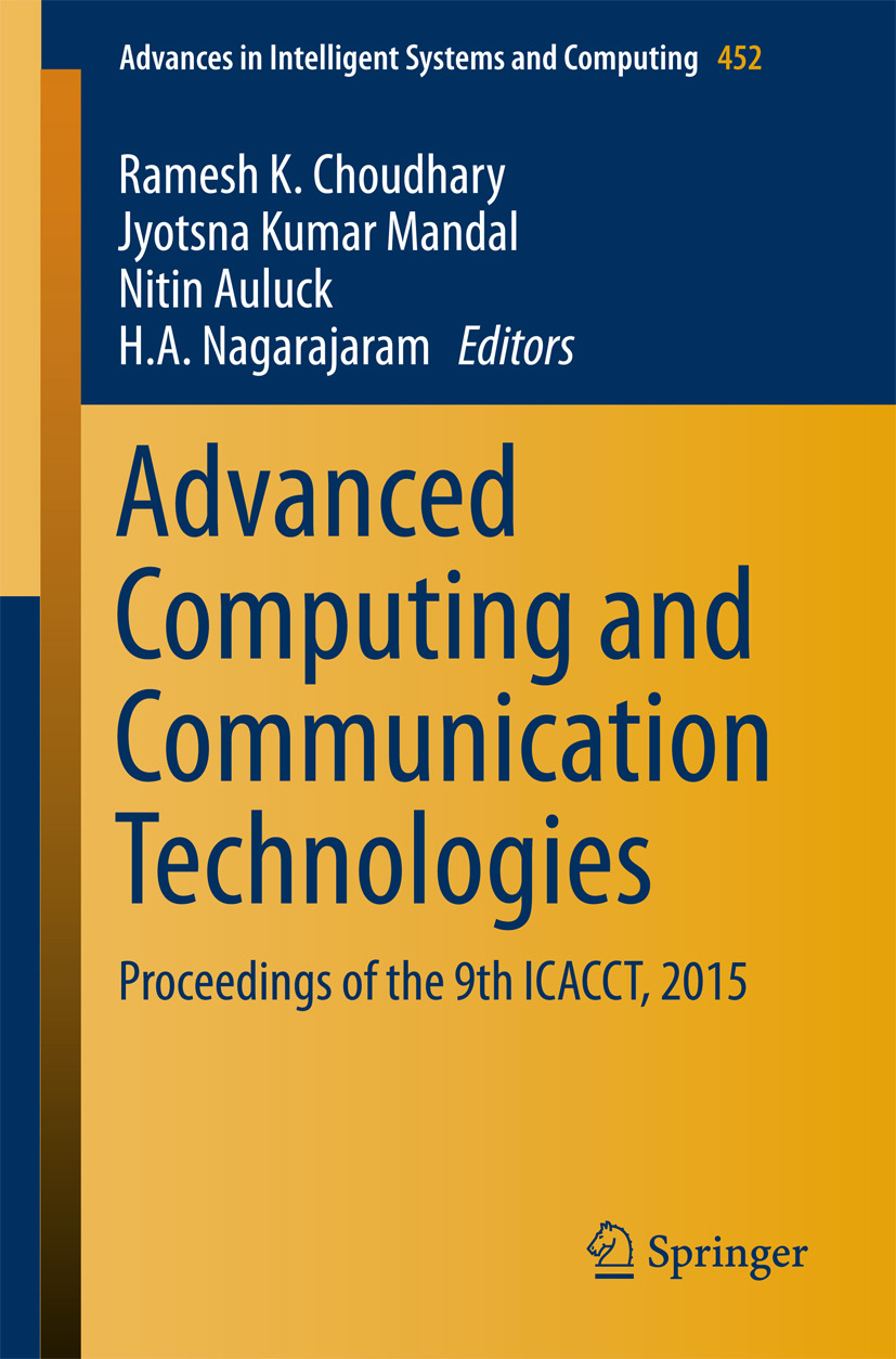 Auluck, Nitin - Advanced Computing and Communication Technologies, ebook