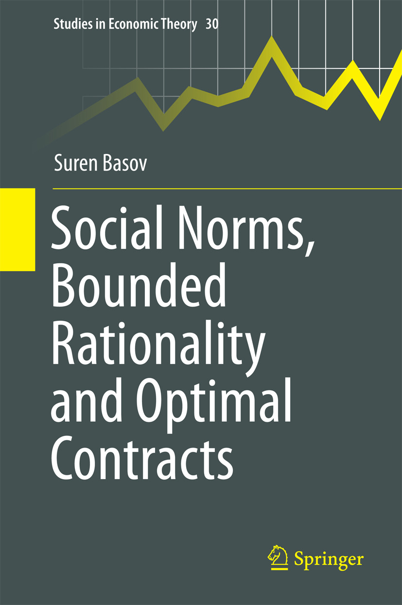 Basov, Suren - Social Norms, Bounded Rationality and Optimal Contracts, ebook