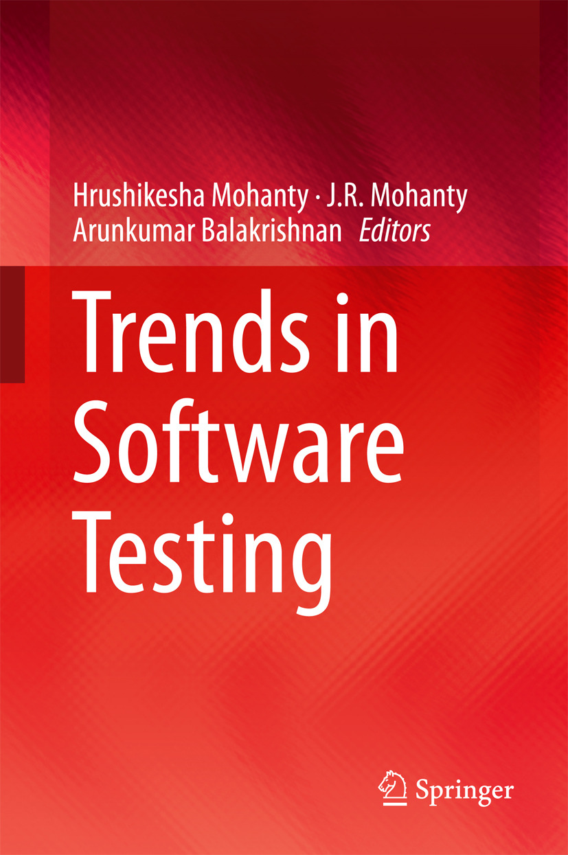 Balakrishnan, Arunkumar - Trends in Software Testing, ebook