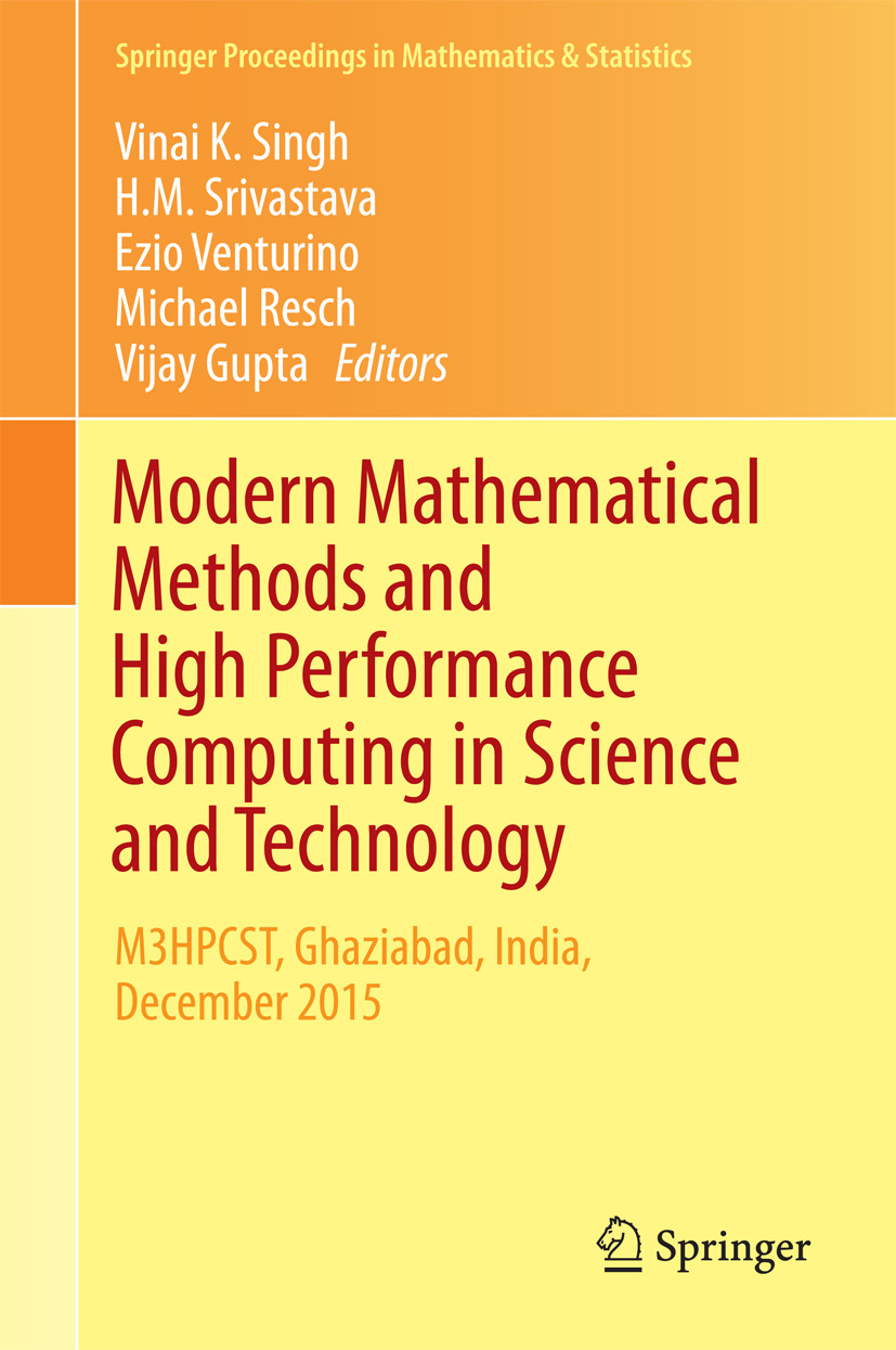 Gupta, Vijay - Modern Mathematical Methods and High Performance Computing in Science and Technology, ebook