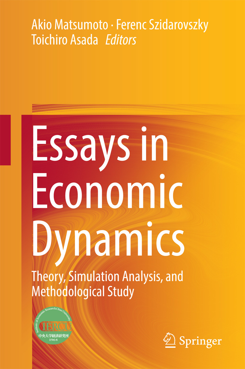 Asada, Toichiro - Essays in Economic Dynamics, ebook