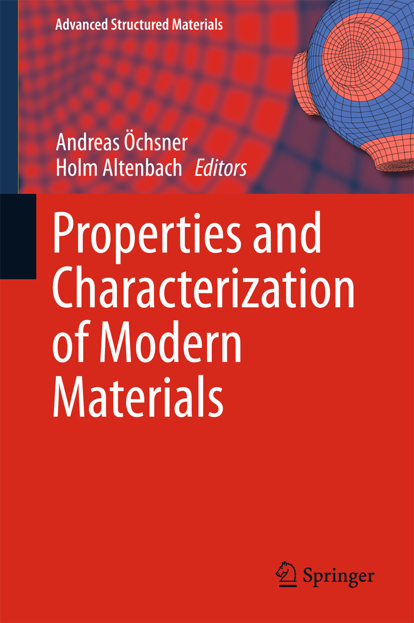 Altenbach, Holm - Properties and Characterization of Modern Materials, ebook