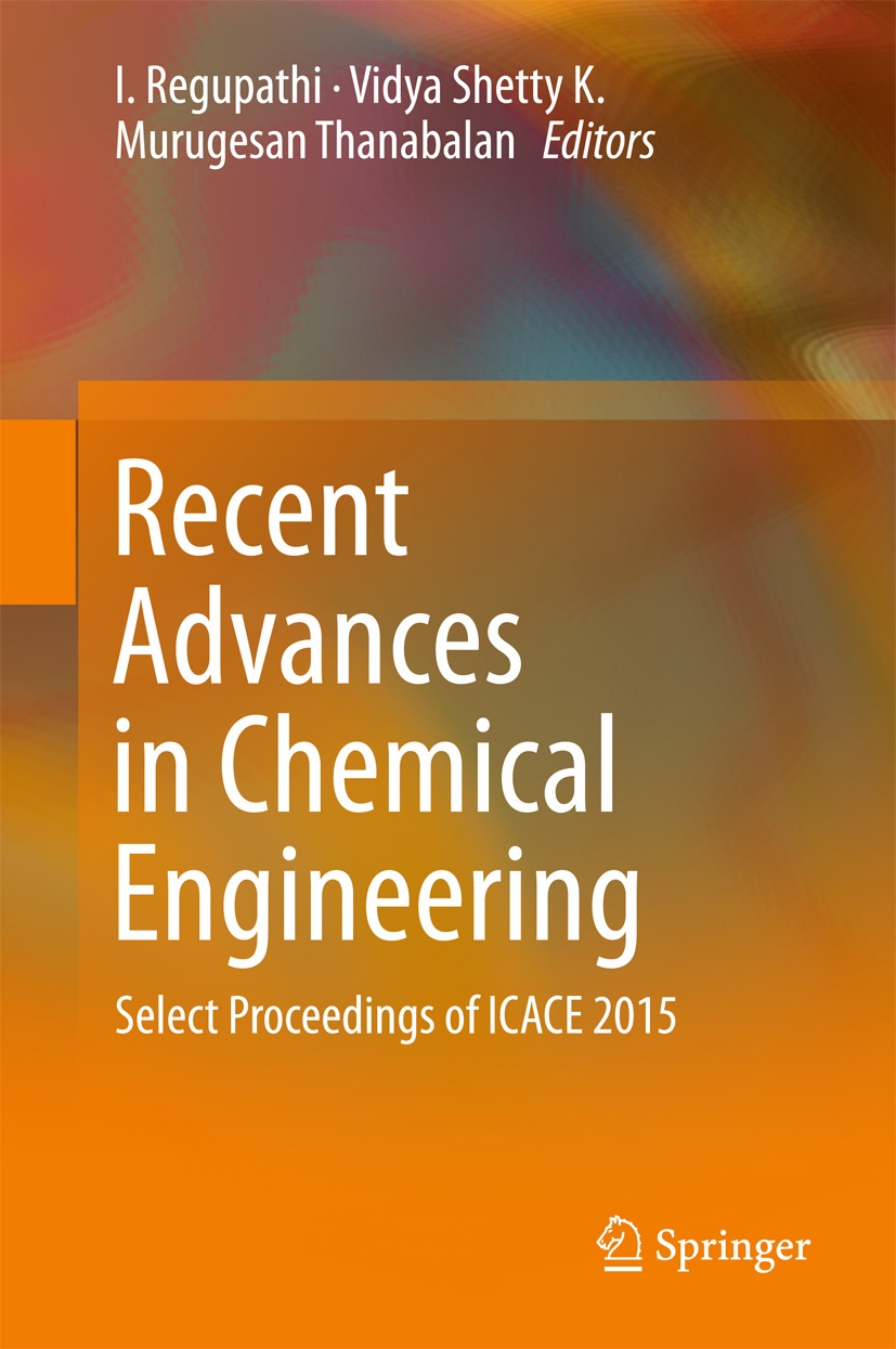 K, Vidya Shetty - Recent Advances in Chemical Engineering, ebook