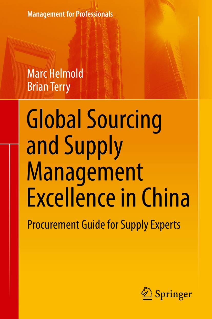 Helmold, Marc - Global Sourcing and Supply Management Excellence in China, e-bok