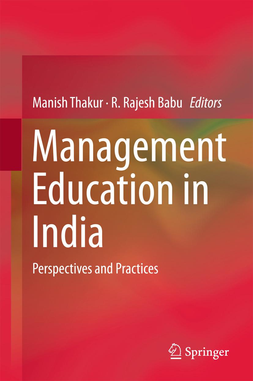 Babu, R. Rajesh - Management Education in India, ebook