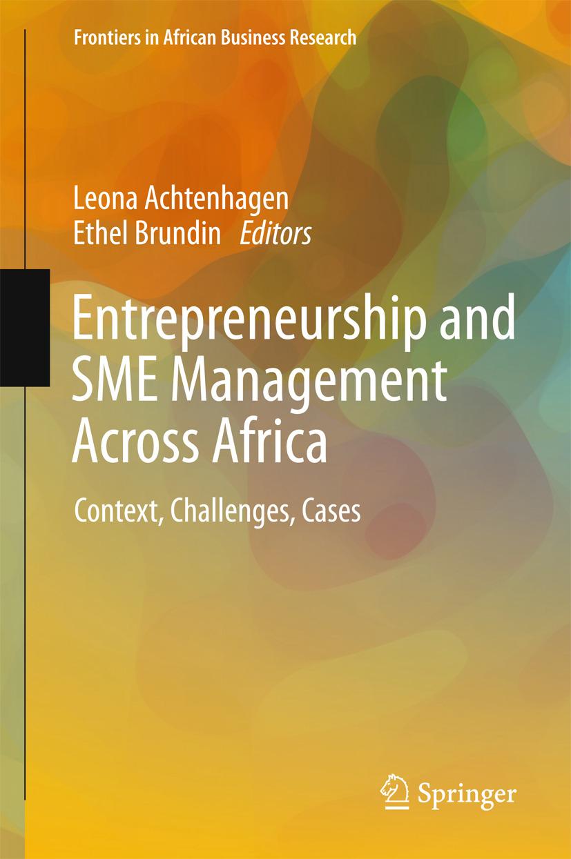 Achtenhagen, Leona - Entrepreneurship and SME Management Across Africa, ebook