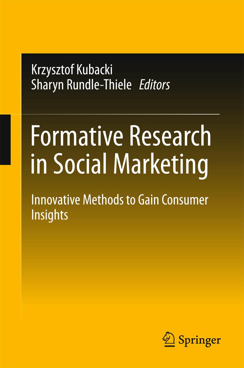 Kubacki, Krzysztof - Formative Research in Social Marketing, ebook