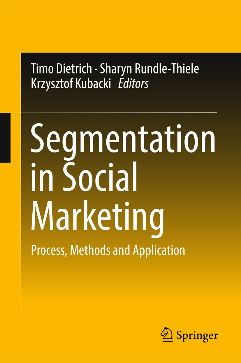 Dietrich, Timo - Segmentation in Social Marketing, ebook