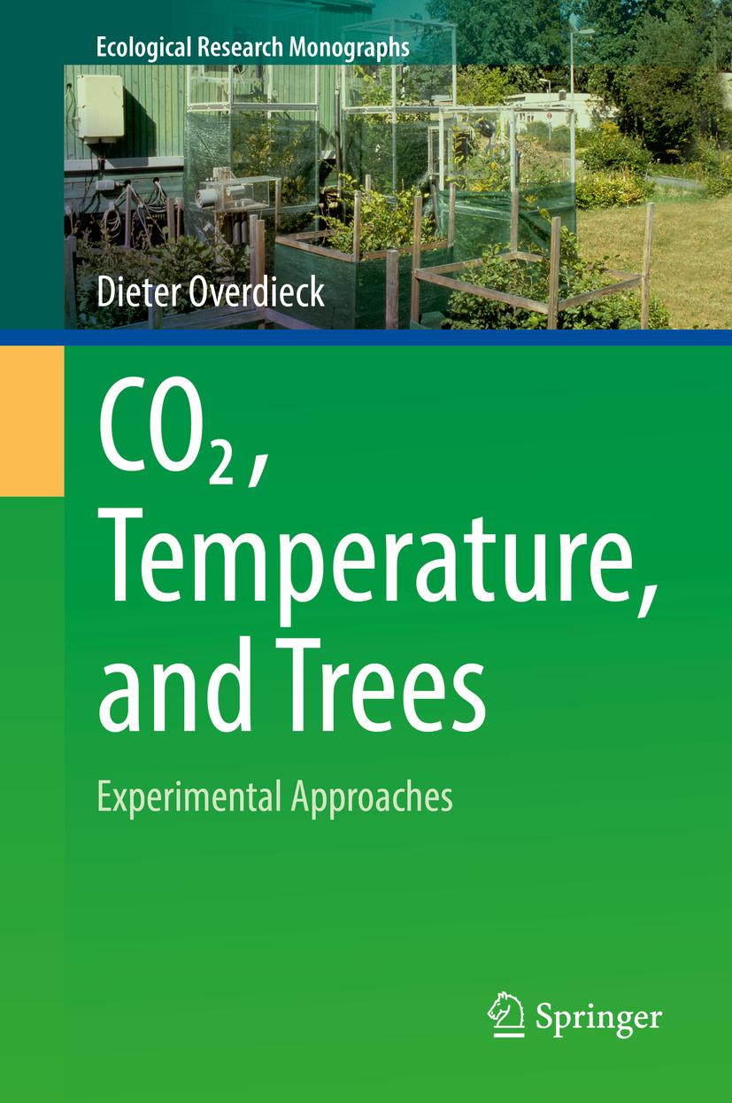 Overdieck, Dieter - CO2, Temperature, and Trees, ebook