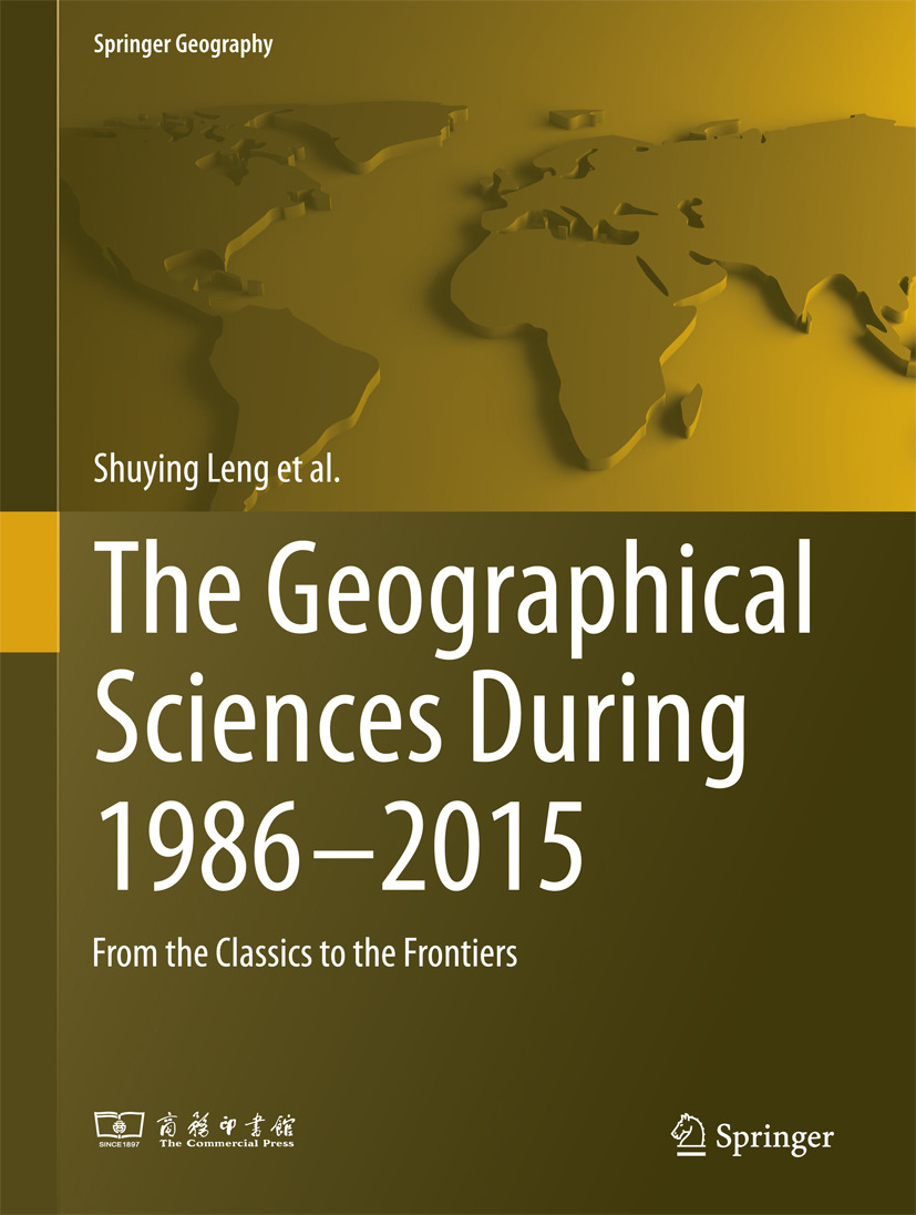 Chen, Liangfu - The Geographical Sciences During 1986—2015, ebook