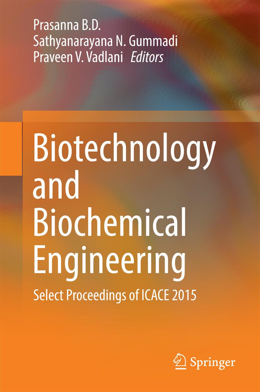 D., Prasanna B. - Biotechnology and Biochemical Engineering, ebook