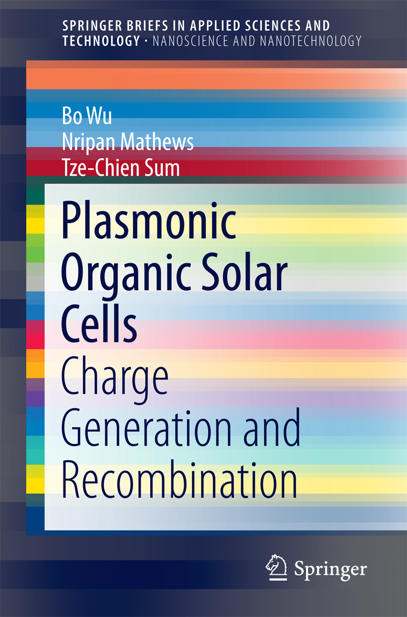 Mathews, Nripan - Plasmonic Organic Solar Cells, ebook