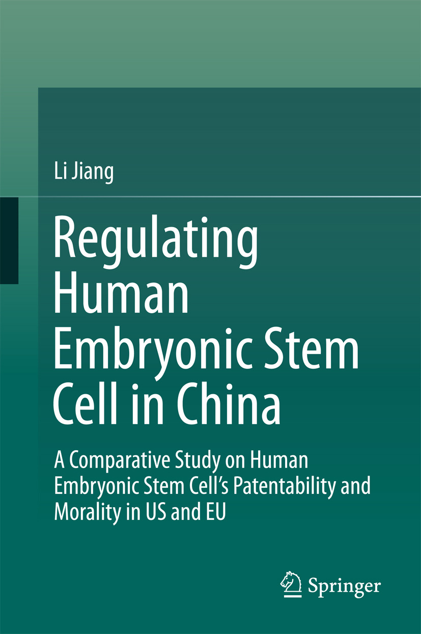 Jiang, Li - Regulating Human Embryonic Stem Cell in China, ebook
