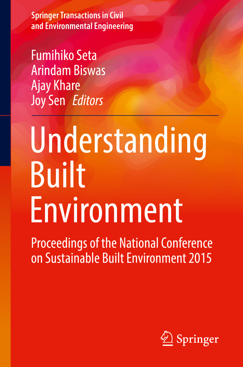 Biswas, Arindam - Understanding Built Environment, ebook