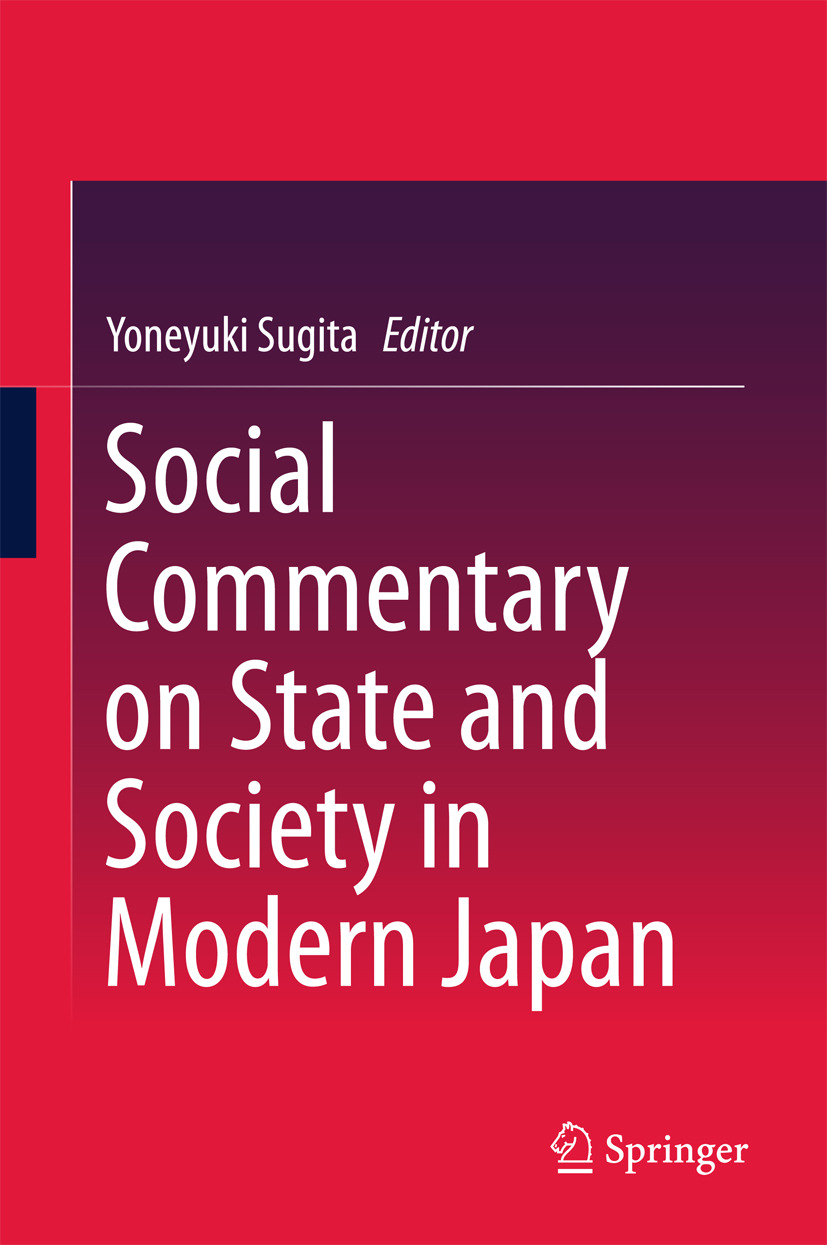 Sugita, Yoneyuki - Social Commentary on State and Society in Modern Japan, ebook