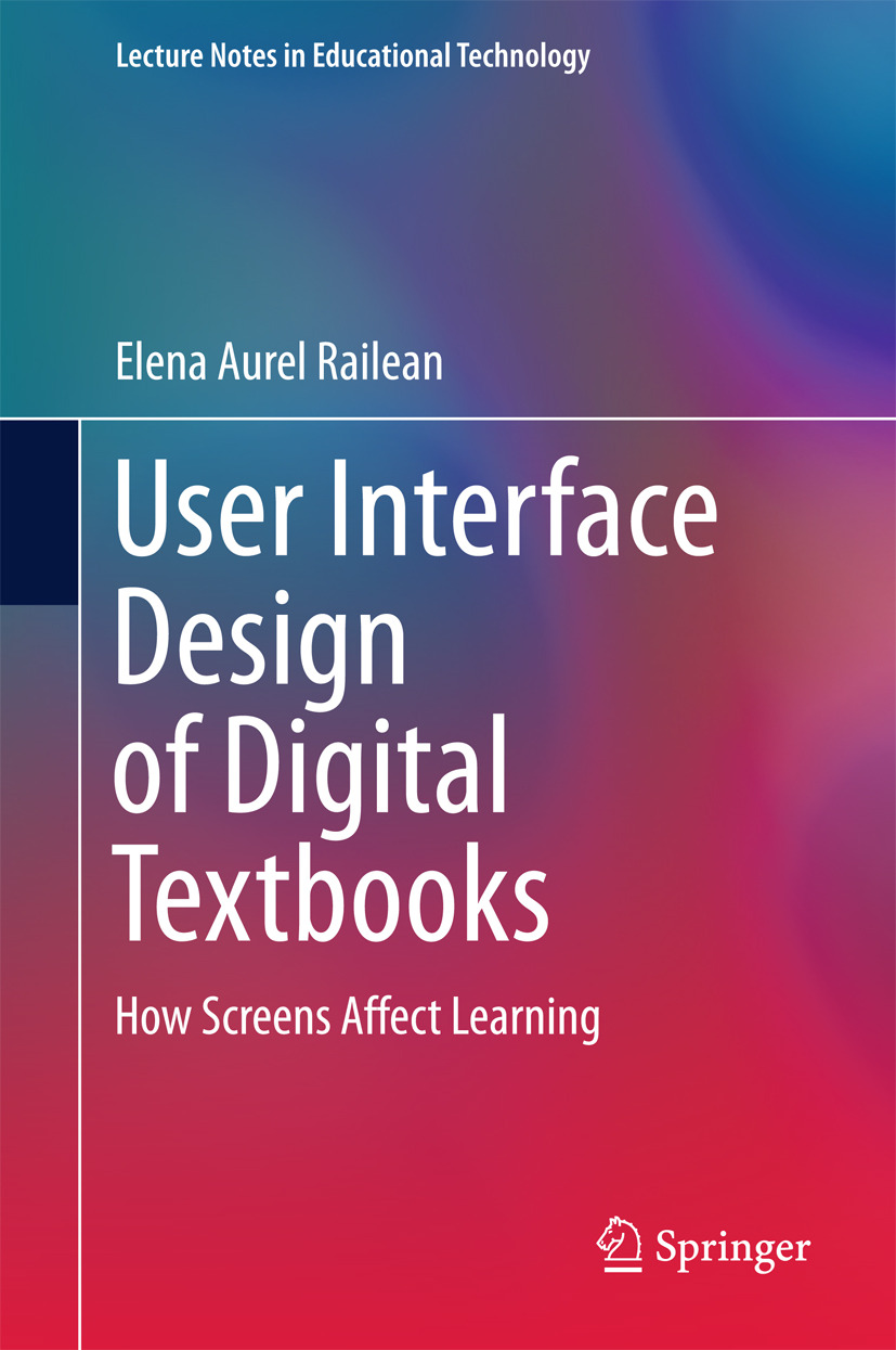 Railean, Elena Aurel - User Interface Design of Digital Textbooks, ebook