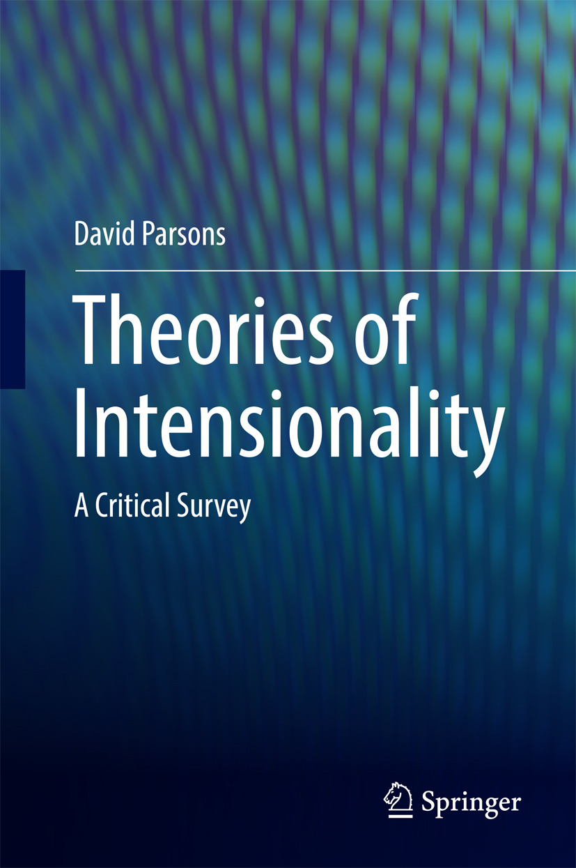 Parsons, David - Theories of Intensionality, ebook