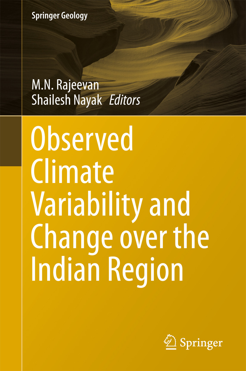 Nayak, Shailesh - Observed Climate Variability and Change over the Indian Region, ebook