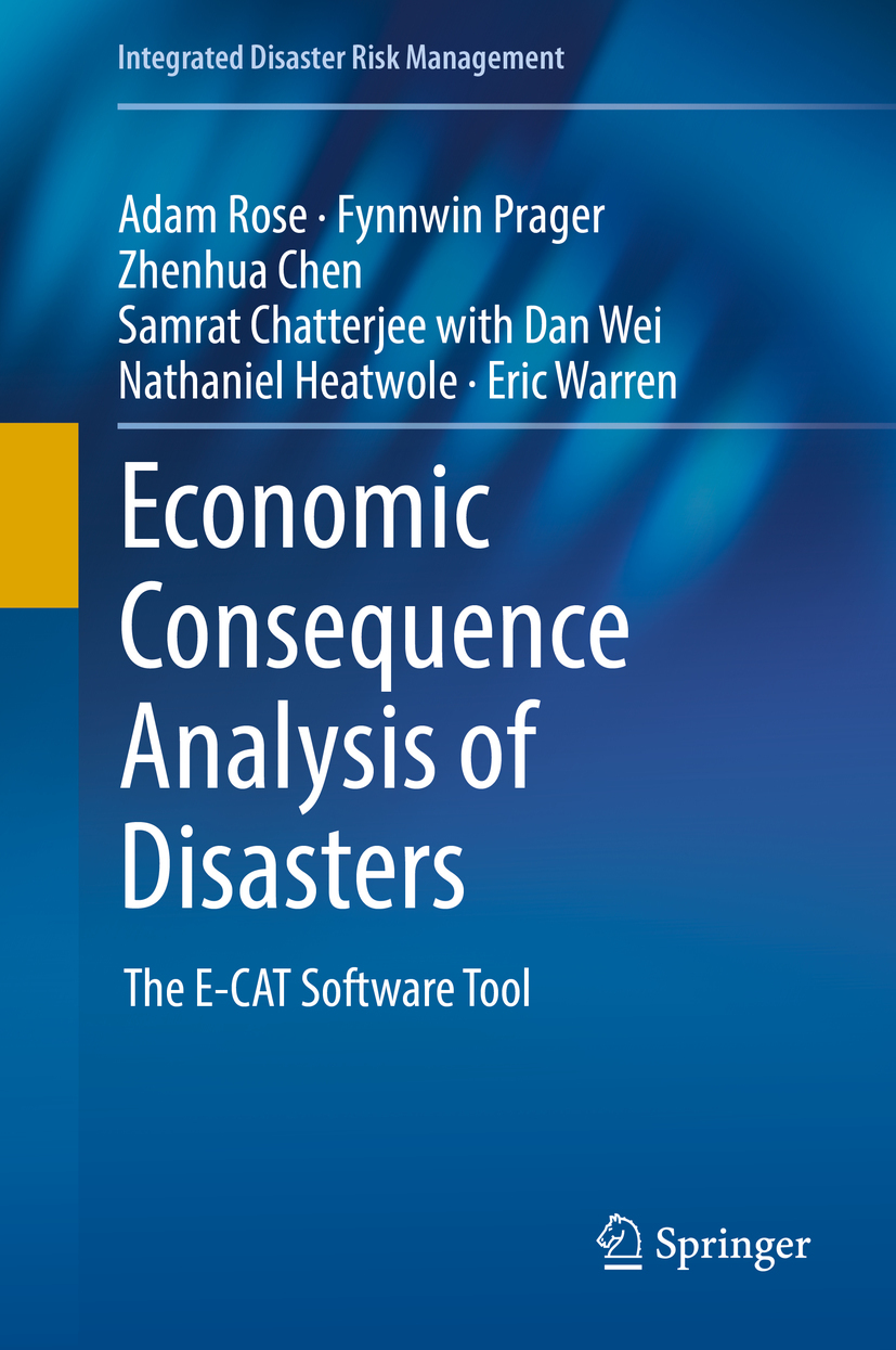 Chatterjee, Samrat - Economic Consequence Analysis of Disasters, ebook