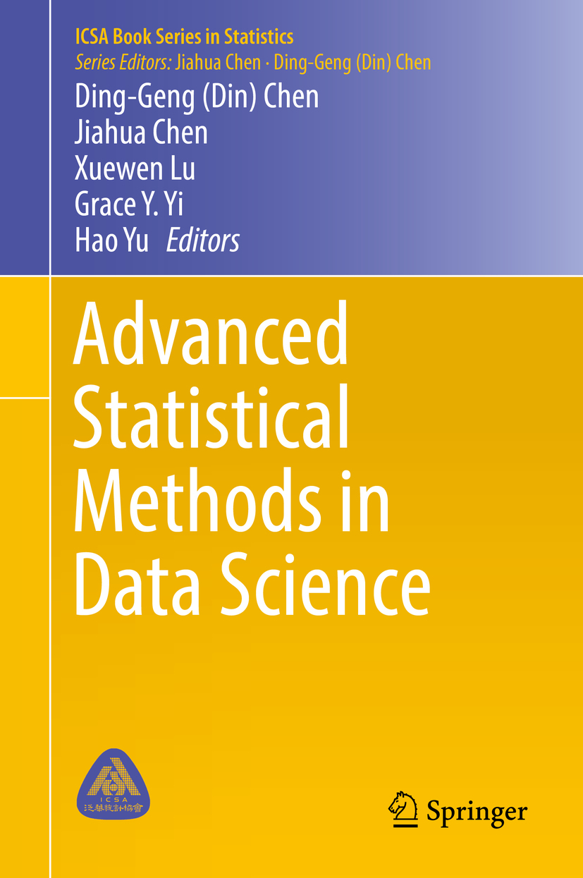 Chen, Ding-Geng - Advanced Statistical Methods in Data Science, e-bok