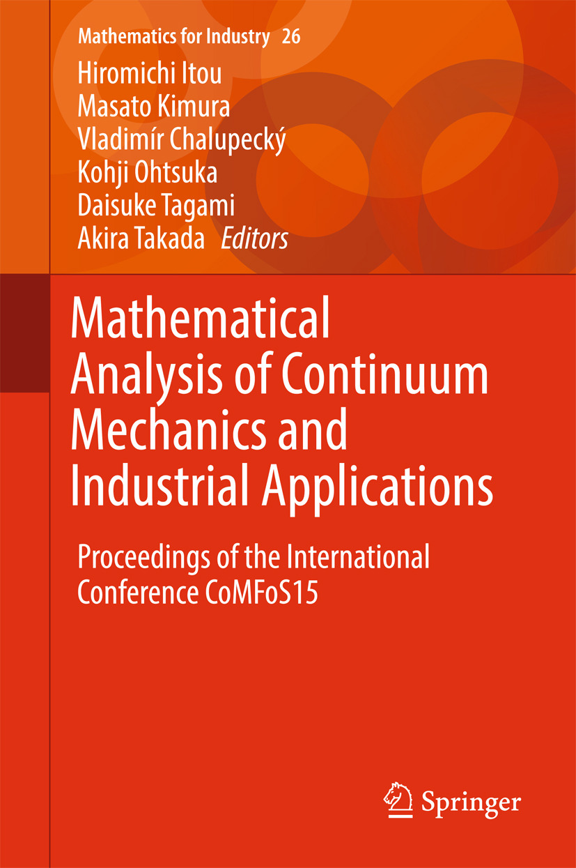 Chalupecký, Vladimír - Mathematical Analysis of Continuum Mechanics and Industrial Applications, ebook