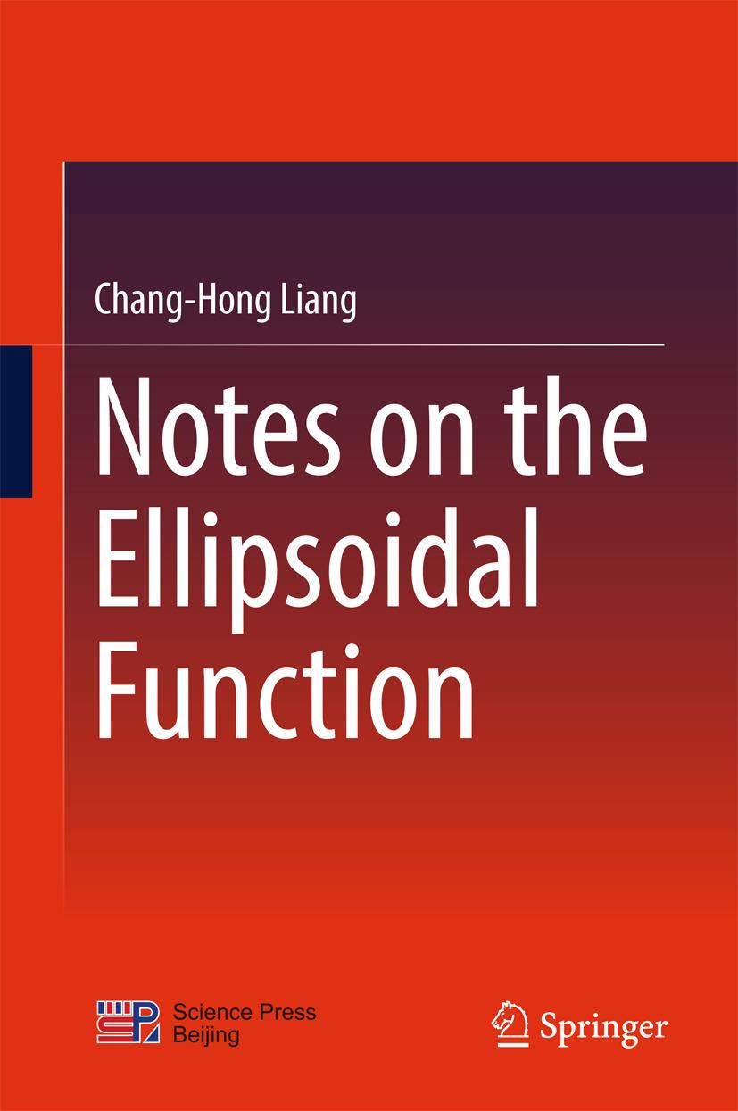 Liang, Chang-Hong - Notes on the Ellipsoidal Function, ebook