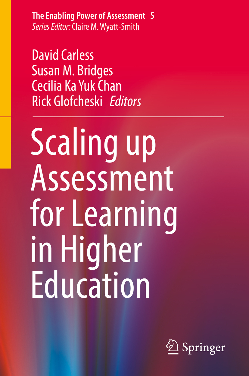 Bridges, Susan M. - Scaling up Assessment for Learning in Higher Education, ebook