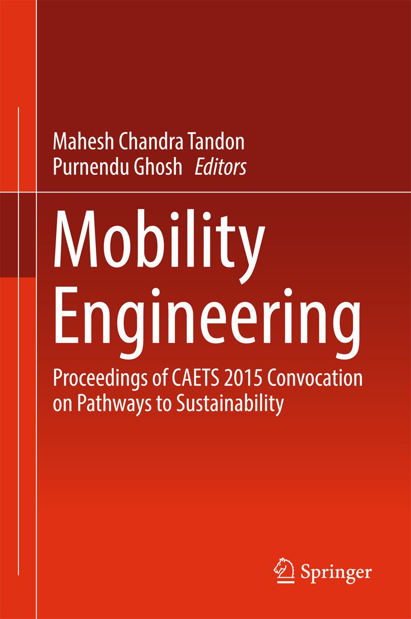 Ghosh, Purnendu - Mobility Engineering, ebook