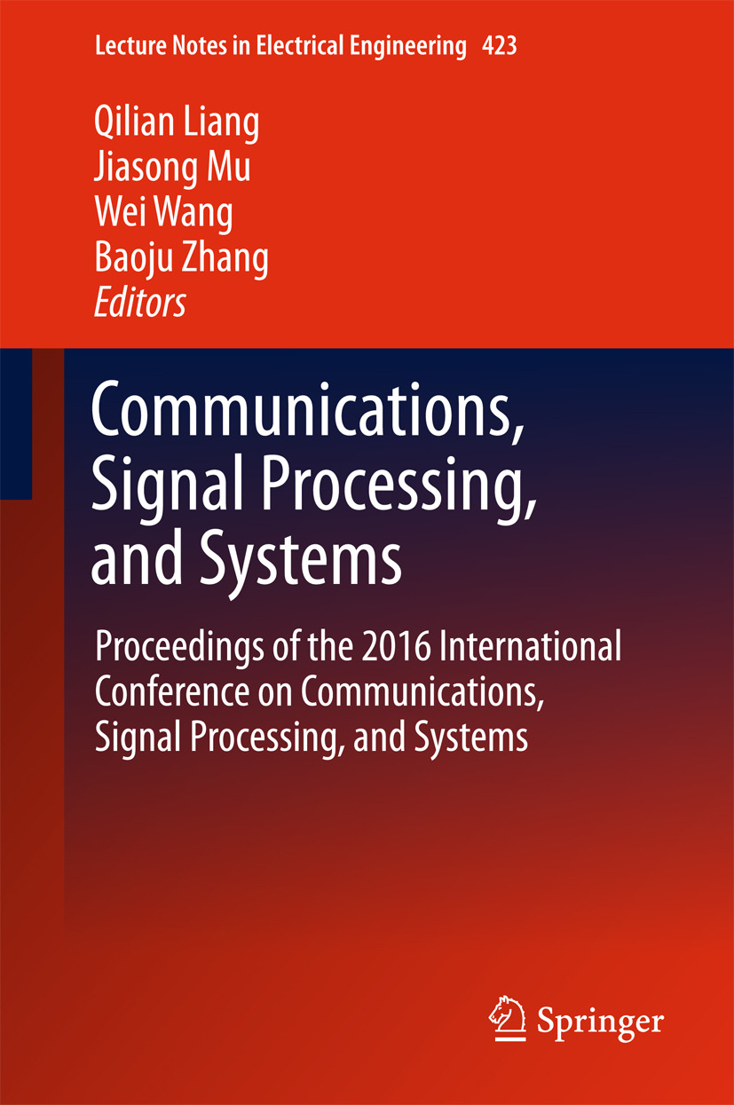 Liang, Qilian - Communications, Signal Processing, and Systems, ebook