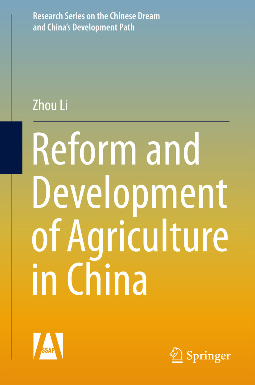 Li, Zhou - Reform and Development of Agriculture in China, ebook