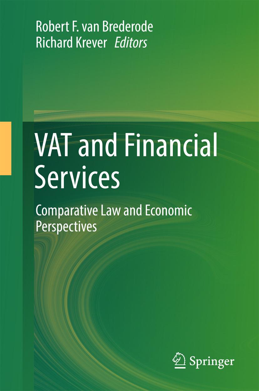 Brederode, Robert F. van - VAT and Financial Services, e-bok