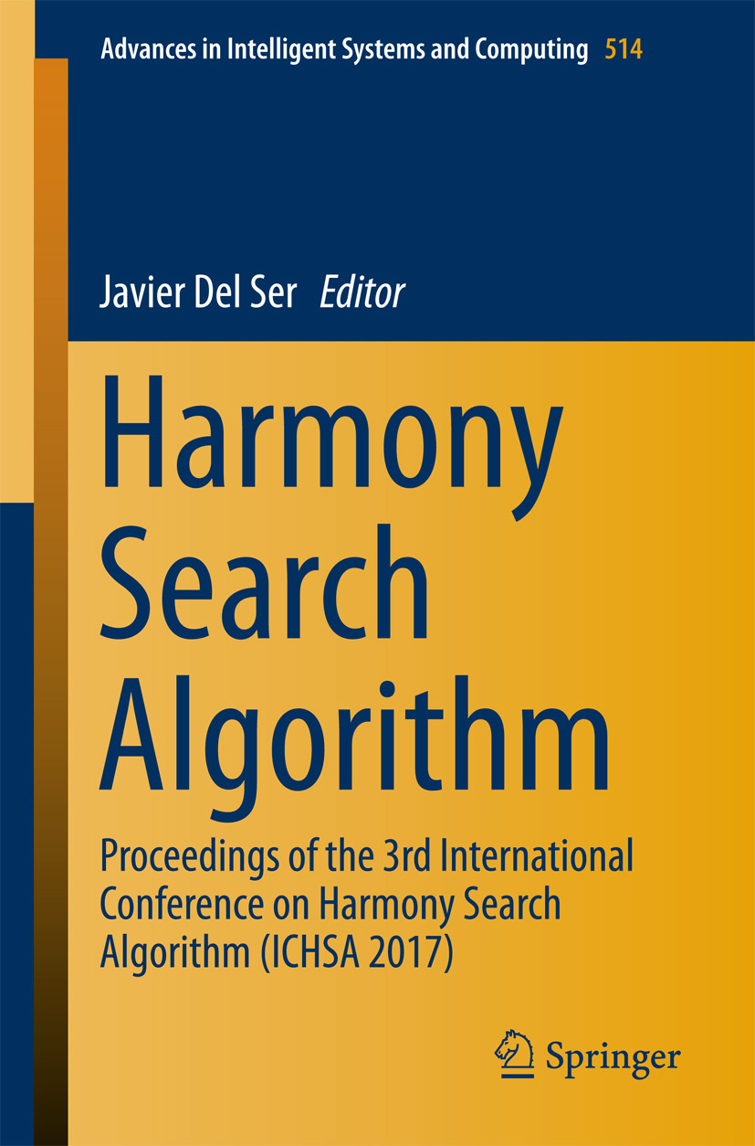 Ser, Javier Del - Harmony Search Algorithm, ebook