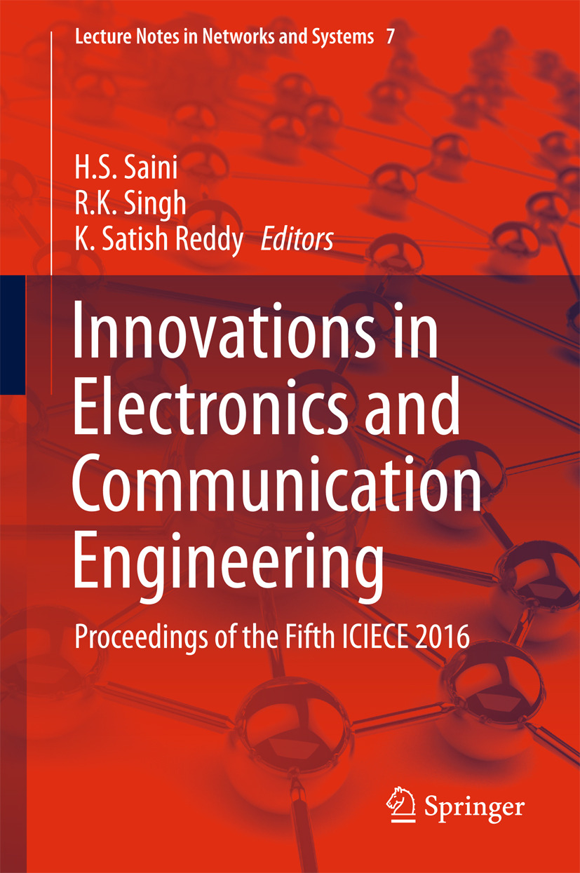 Reddy, K. Satish - Innovations in Electronics and Communication Engineering, ebook